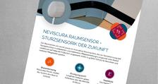 Flyer nevisCura Raumsensor